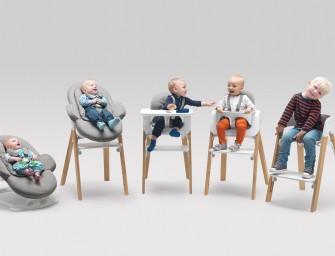 Permafrost designs Multi-Functional Modular Seating System for Stokke