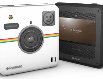 Polaroid's Socialmatic Camera will enhance your selfies this fall