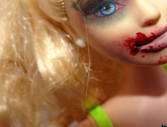 Domestic Abuse Barbie Unmasks the Face of Violence against Women