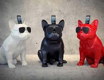 Woof up the music with the Aerobull iPhone Speaker