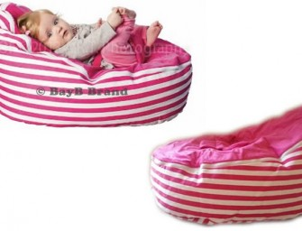 The BayB Brand Infant and Toddler Bean Bags keep your kids happy