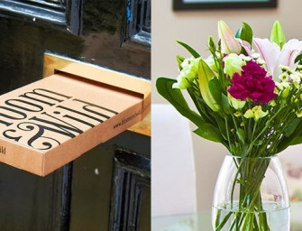 Bloom & Wild Sends Bouquets to your Mailbox Sans the Damage