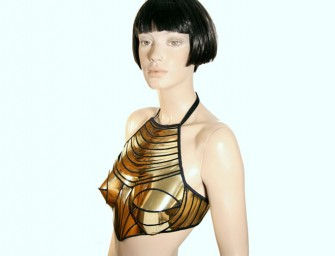 The Cleopatra Armour Corset Halter Top: For the strong and sexy woman