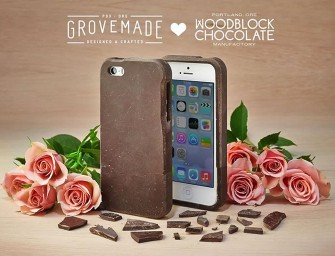 Edible Chocolate iPhone Case is an Impractical Indulgence!