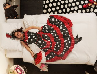 Dance in your dreams with the Flamenco Bedding Set