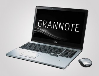Fujitsu launches GRANNOTE brand personal computer for old folk