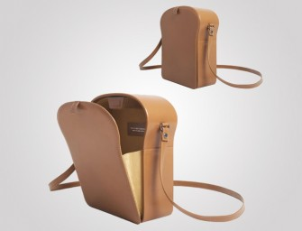 Toast Shoulder Bag is a fashionable way to curb carbs!