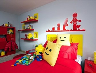 The world's first Lego Bedroom needs to be seen to be believed