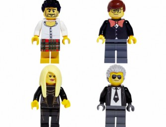Lego marvels fashion designers- Karl Lagerfeld  Donatella Versace and more