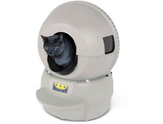 Robotic Self Cleaning Litter Box eases pet owners