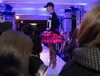 World's First Smartphone Skirt Hits the London Fashion Week