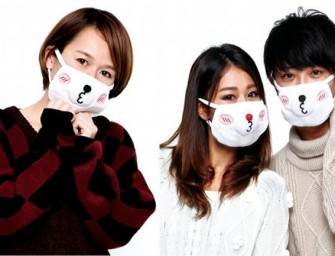 Pair Mask Bear Face Mask Set: Hygiene in Style