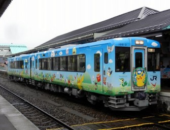 Tohoku Kids and Adults will Enjoy their Dream Ride on Pokemon Train