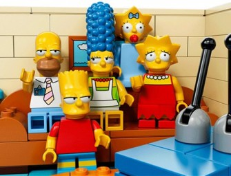 Simpsons will celebrate its 25th Anniversary with a LEGO Episode