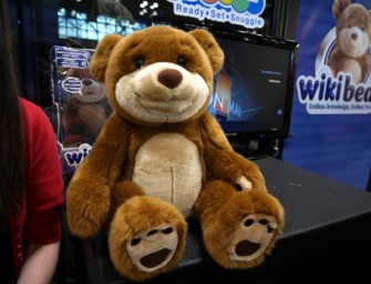 WikiBear is the world's smartest soft toy!
