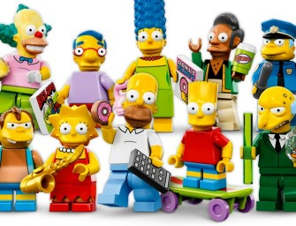 Simpsons Lego Mini figures coming this May!