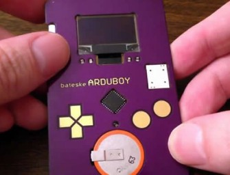 Arduboy: The Playable Tetris Business Card by Kevin Bates