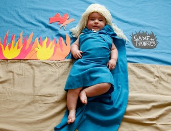 Cuteness Personified: Baby Olivia Photographed as Popular Tv Show Characters