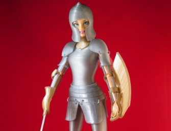 3-D Printer Armor for Barbie Doll!