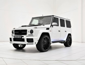 Brabus modified this Mercedes-Benz G63 AMG to look like a Stormtrooper