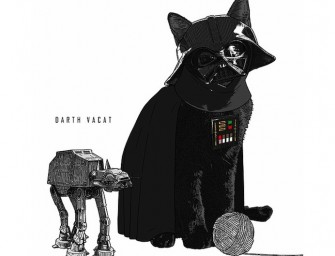 Pop culture icons reimagined as cats – just the cutest thing ever!