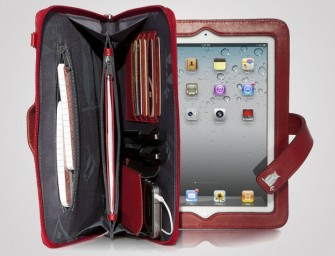 The iPad clutch will keep your essentials intact