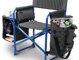 Backpack Cooler Chair Great for Outdoorsy Souls