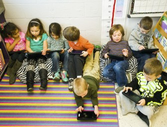 Does a Kindergartener require an iPad for education?