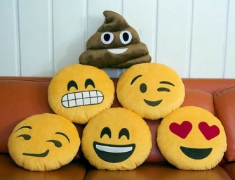 Express your feelings with the Lifesized Emoji Pillows