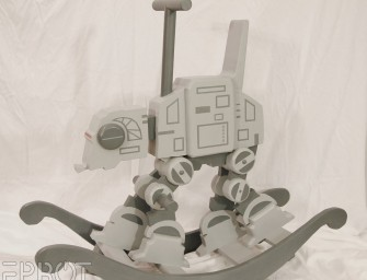 AT-AT Rocker: The Star Wars rocking horse for the geeky toddler