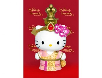 Madame Tussuads Bangkok introduces adorable Hello Kitty wax figure replete in traditional splendor