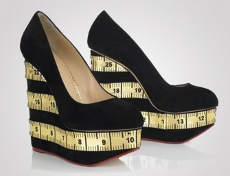 Take a Measured Step with these Charlotte Olympia Wedges