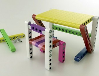 OLLA lets you build your own furniture with Lego-like blocks