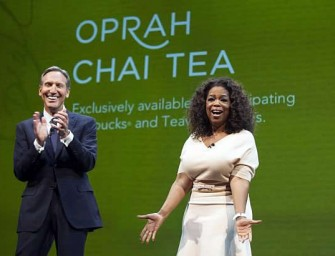 Oprah and Starbucks collaborate on delicious new Teavana Oprah Chai Tea