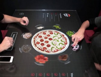 Gastronomic Dreams come True with Pizza Hut Interactive Table