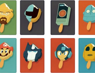 Pop Culture Characters as Popsicles Look Delicious