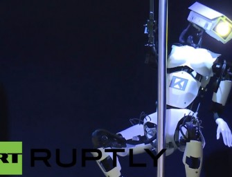 Pay $40,000 To Rent a Stripper Robot