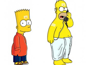 Simpsons take a hilarious South Indian Avatar!