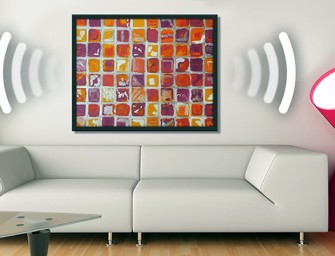 Soundwall lets you play music via paintings!