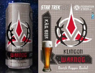 Spock up the party with the official Star Trek Beer!