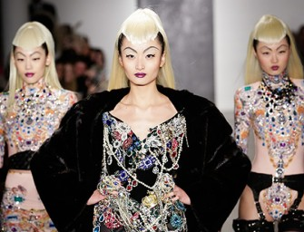 The Blonds bring Gotham City to New York Fashion Week