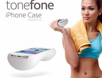 ToneFone Case turns your iPhone into a dumbbell