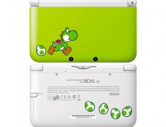 Nintendo releases Yoshi themed 3DS XL