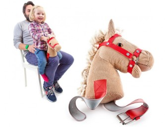 The Knee Horsey: Countless hours of fun without breaking your back