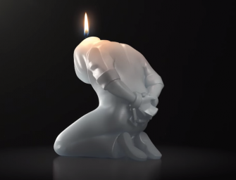 Amnesty International freedom candles melts to form a positive impact