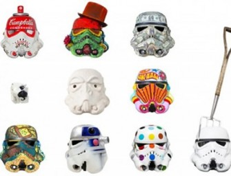 Dubai Comic Con celebrates Art Wars with Funky Stormtrooper Helmets