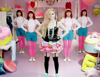 Avril Lavigne's Hello Kitty Video does not feature our favorite cat!