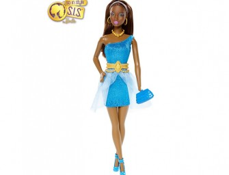 Barbie® So In Style™ Kara® Prom Doll Looks Beautiful in Blue
