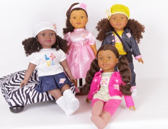 New Black and Brown Positively Perfect Dolls at Walmart Stores
