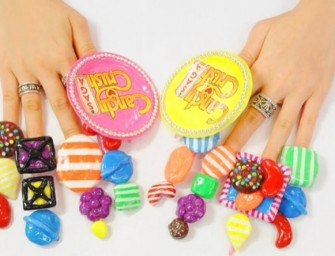 Candy Crush Saga hires a Japanese Girl's fingernails to promote the game